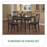 DIAMOND-M DINING SET